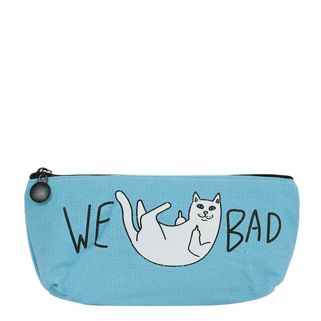"Пенал ""Bad cat"" (голубой), 80х180х30мм"
