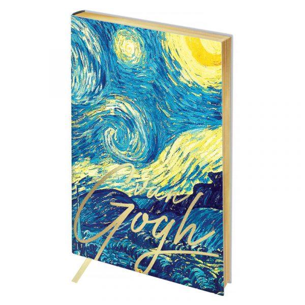 """Ежедневник недатированный Greenwich Line Vision.Van Gogh.Night"""" А5, 136 листов."""