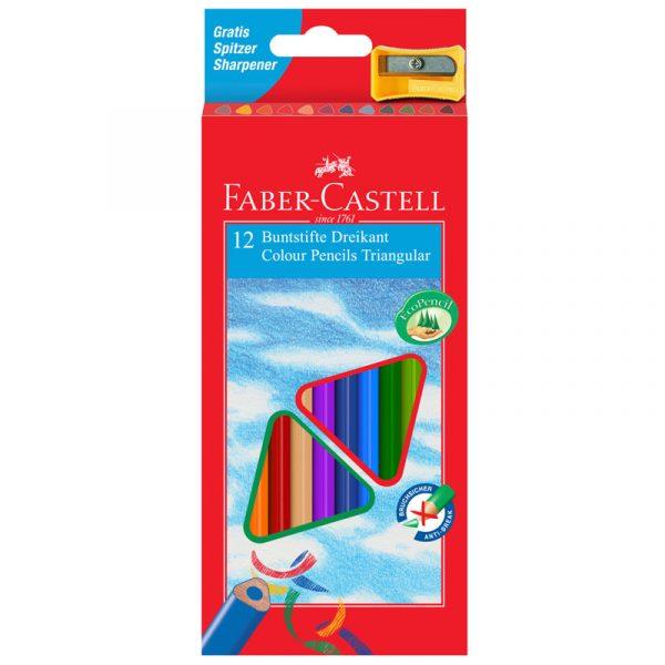 Карандаши цветные ECO с точилкой, 12 штук.