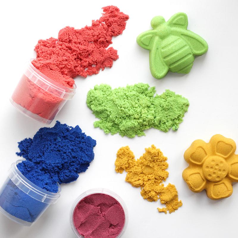 """Песок для лепки """"Магический песок"""" Фиолетовый, 120г."""
