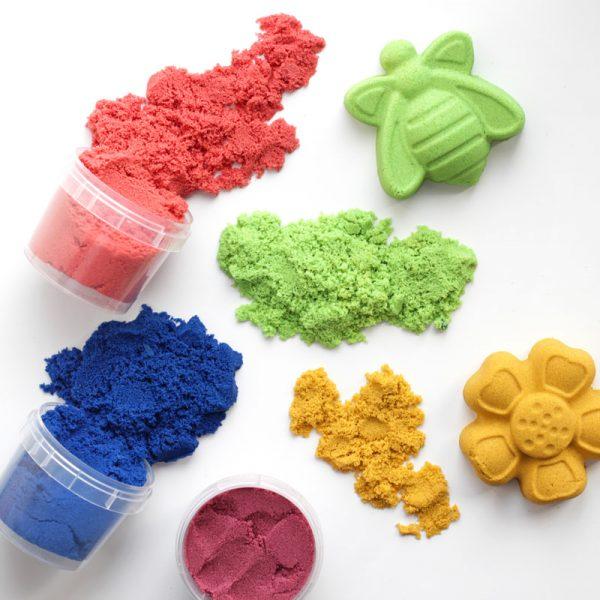 """Песок для лепки """"Магический песок"""" Желтый, 120г."""