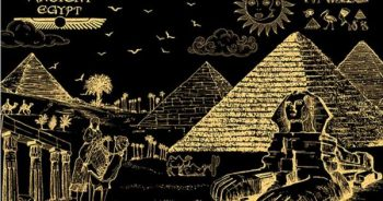 "Скретч-картина ""Египет"", 40х28,5"