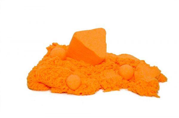 """Песок для лепки """"Магический песок"""" Оранжевый, 120г."""