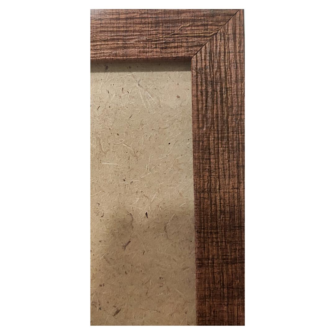 """Рамка из багета со стеклом """"Каштан"""", окно 12.5х17.5"""