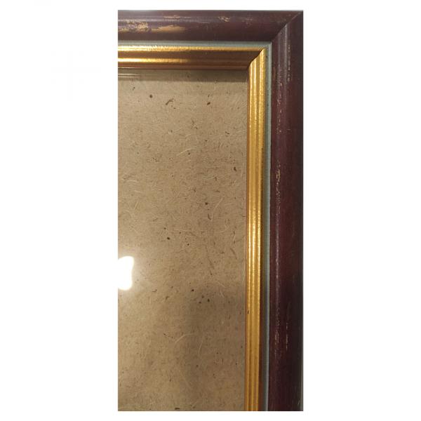 """Рамка из багета со стеклом """"Вишня"""", окно 10х15.7"""