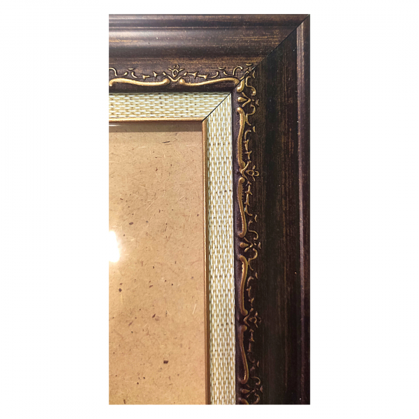 "Рамка из багета со стеклом ""Марс"", окно 9.8х11.9"