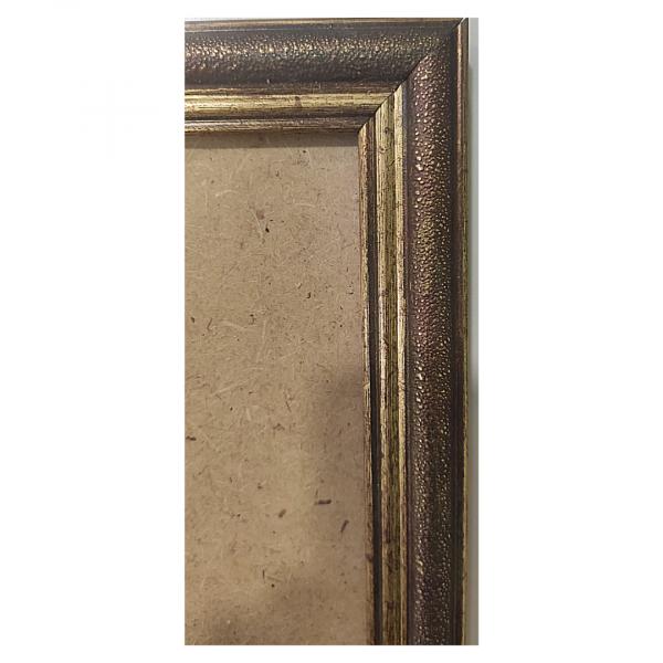 """Рамка из багета со стеклом """"Янтарь темный"""", окно 8.1х12.5"""