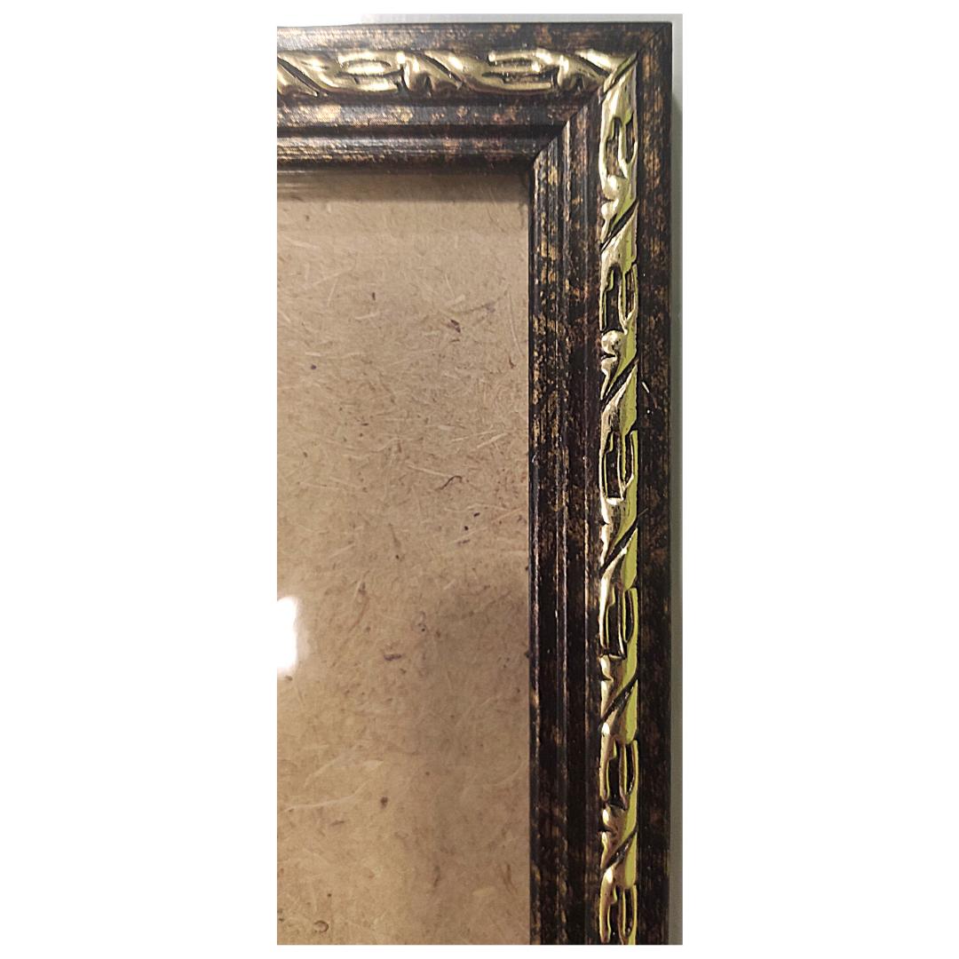 "Рамка из багета со стеклом ""Колье"", окно 13.6х8.3"
