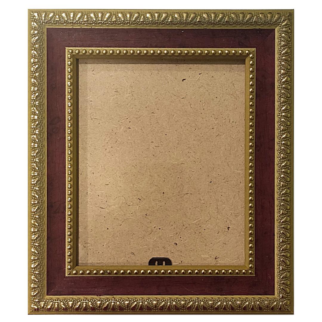 "Рамка из багета со стеклом ""Музей"", окно 10х12.6"