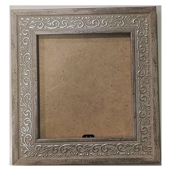 """Рамка из багета со стеклом """"Полынь"""", окно 11.8х10.7"""