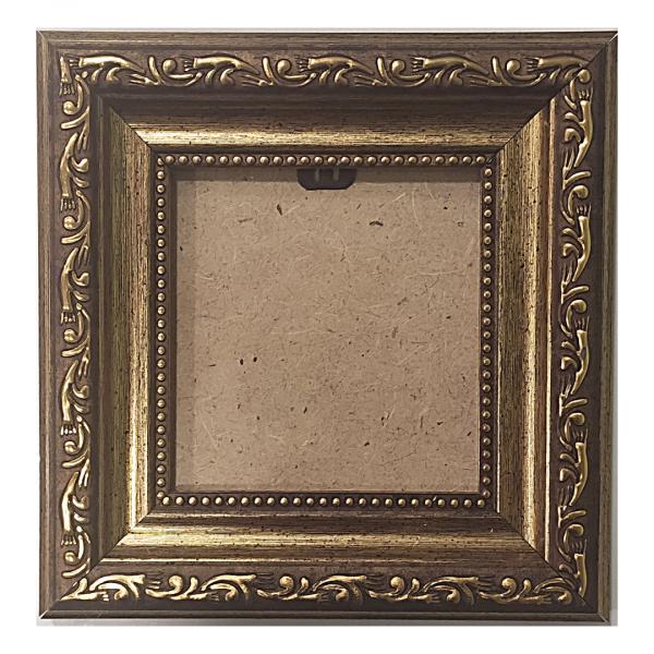 """Рамка из багета со стеклом """"Вальс"""", окно 7.5х7.8"""