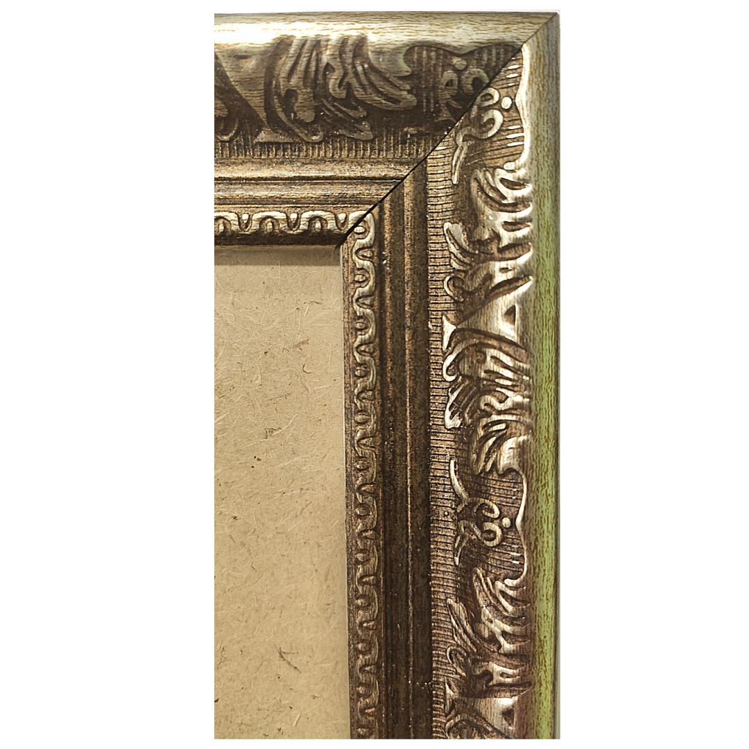 "Рамка из багета со стеклом ""Рим"", окно 13.1х13"