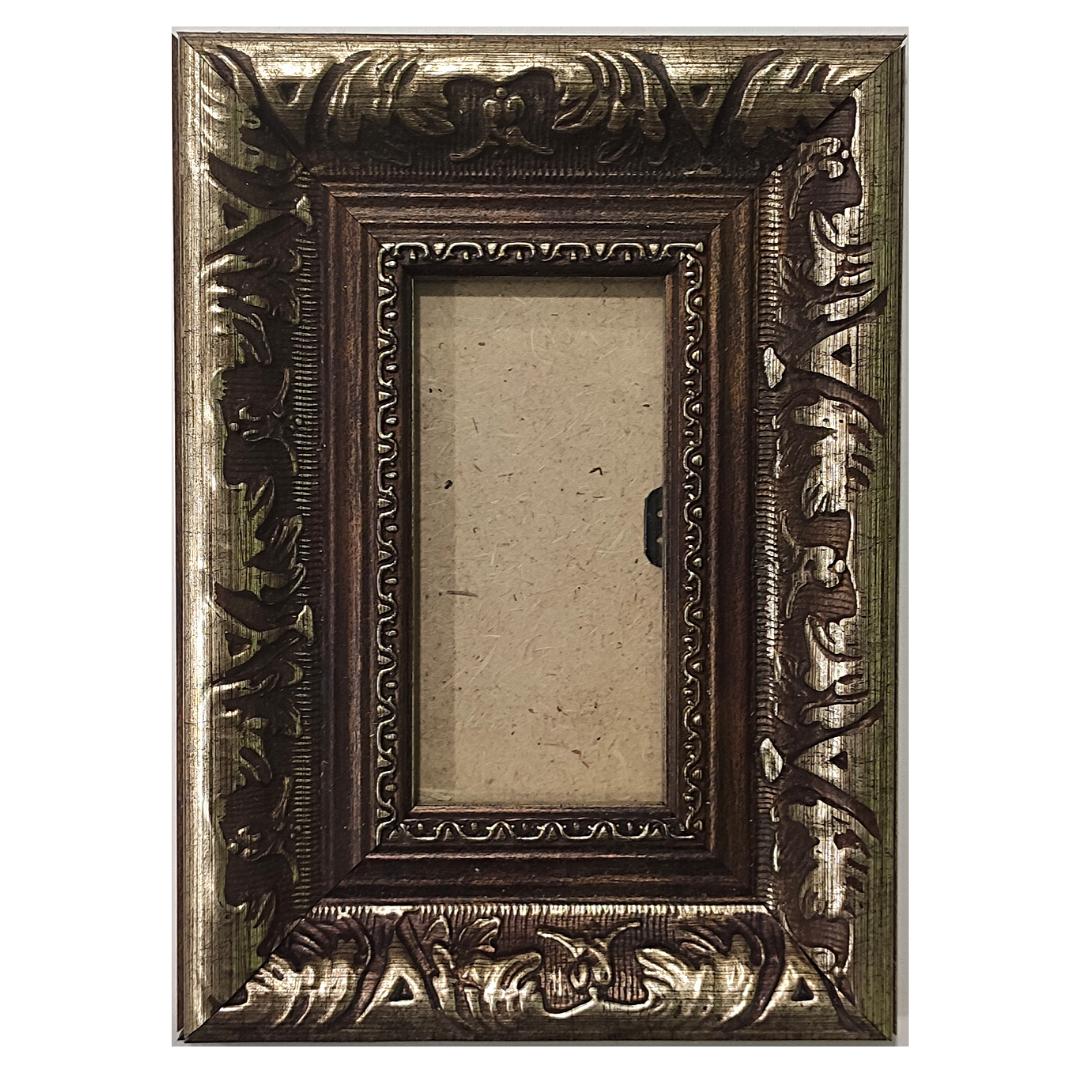 "Рамка из багета со стеклом ""Рим"", окно 4.1х8.9"