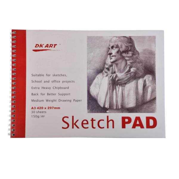 Альбом для набросков DK Art, А5, 30 листов.