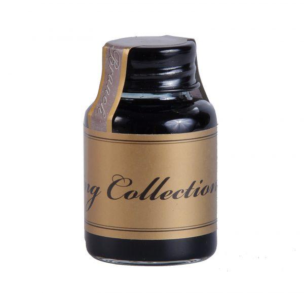 """Тушь жидкая """"The writing collection"""" 20мл, черно-оливковый."""
