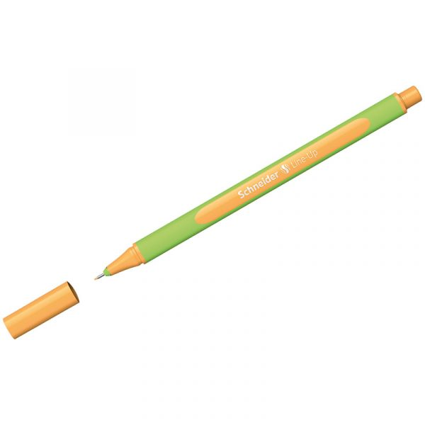 "Ручка капиллярная Schneider ""Line-Up"" неоновая оранжевая, 0,4мм"