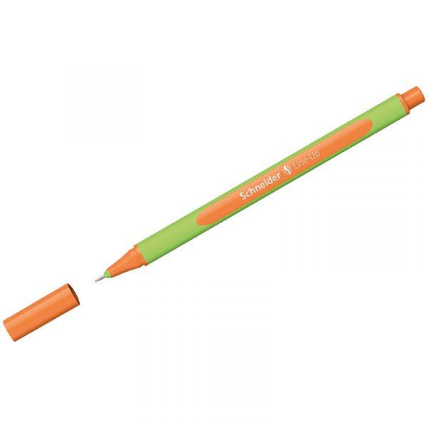 "Ручка капиллярная Schneider ""Line-Up"" оранжевая, 0,4мм"