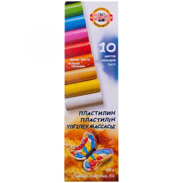 Пластилин Koh-I-Noor детский, 10 цветов
