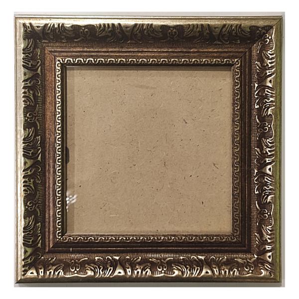 "Рамка из багета со стеклом ""Рим"", окно 9.3х10"