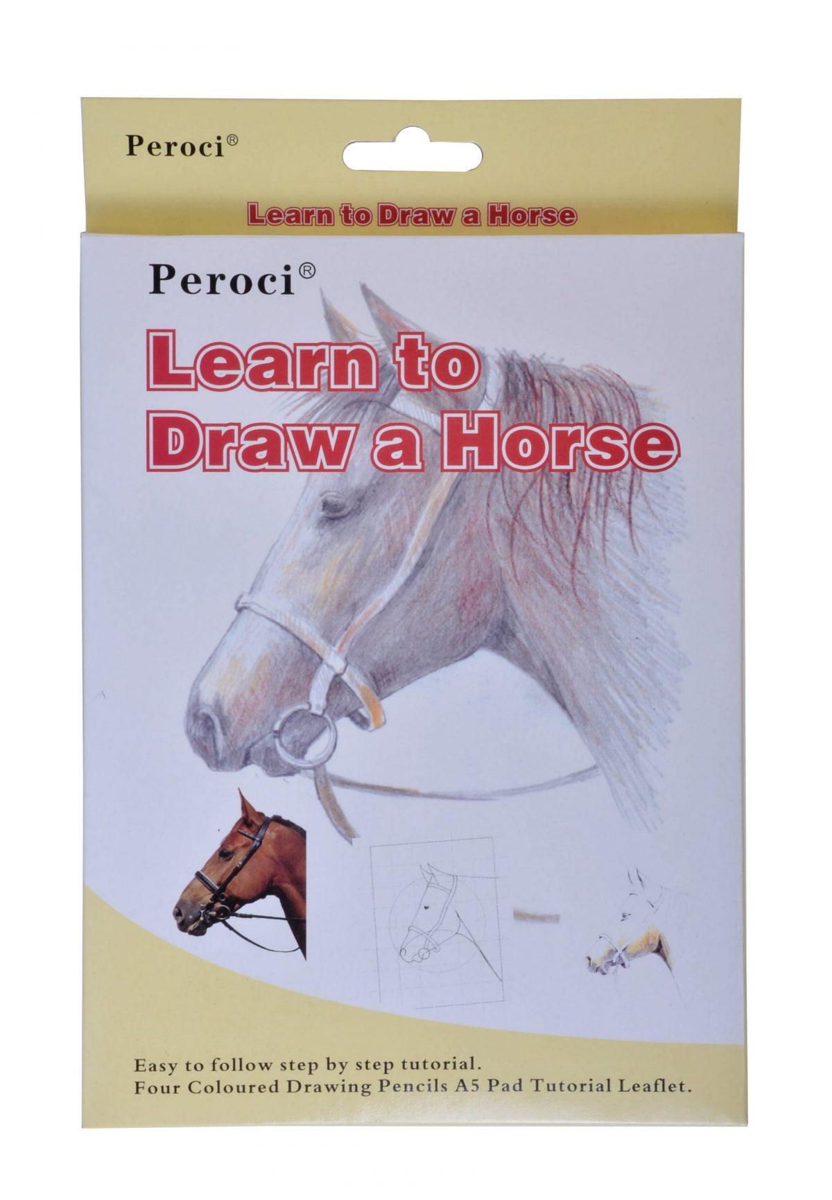 """Набор для эскизов Peroci """"Лошадь"""", A5."""