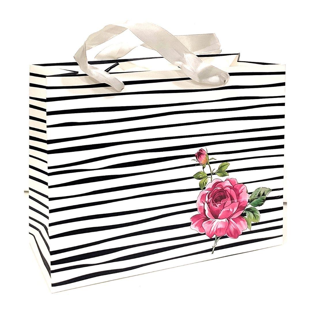 """Пакет подарочный """"Роза"""", 23х18х10см."""