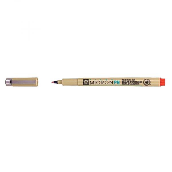 Ручка капиллярная Pigma Micron PN 0.4-0.5мм Красный.