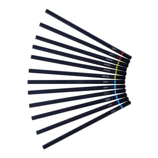 Набор угольных карандашей Peroci, 12 штук.