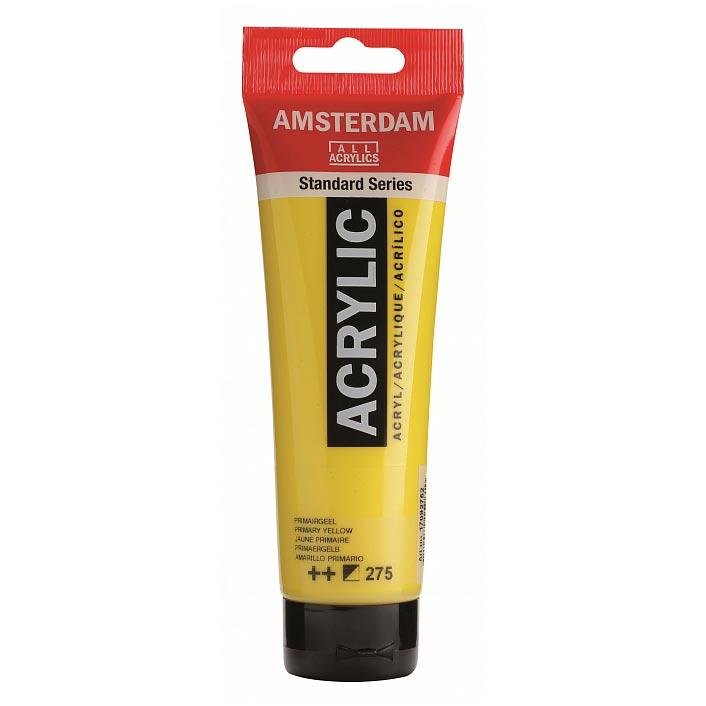 Краска акриловая Amsterdam туба 20мл №275 Жёлтый основной