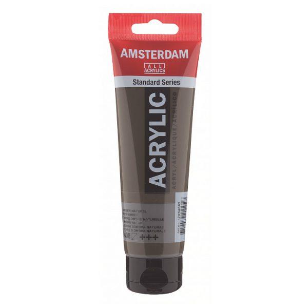 Краска акриловая Amsterdam туба 20мл №408 Умбра натуральная