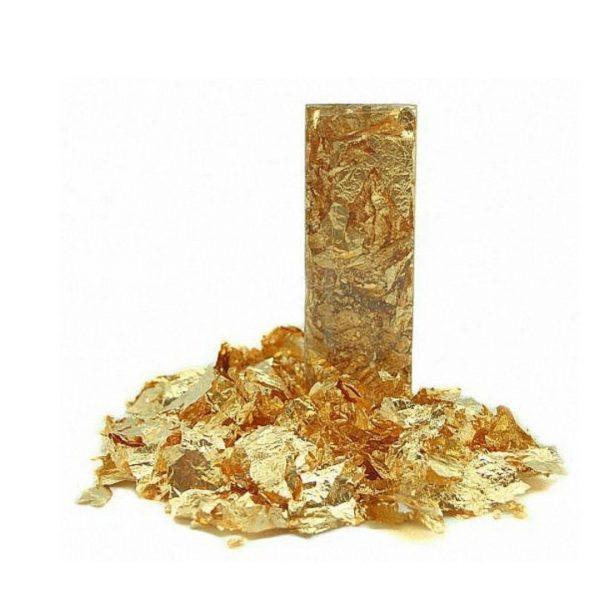 """Поталь """"Золото"""", крупная крошка, 1гр."""