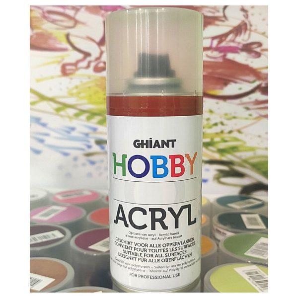 Ghiant Акриловая краска в аэрозоле Hobby, 150 мл, медь