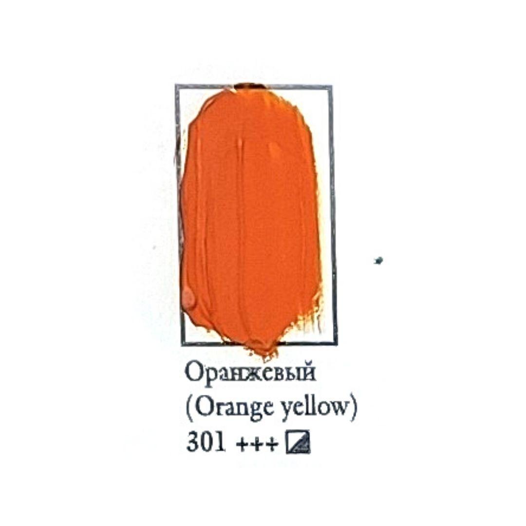 Масляная краска ФЕНИКС 50мл., 301 Оранжевый