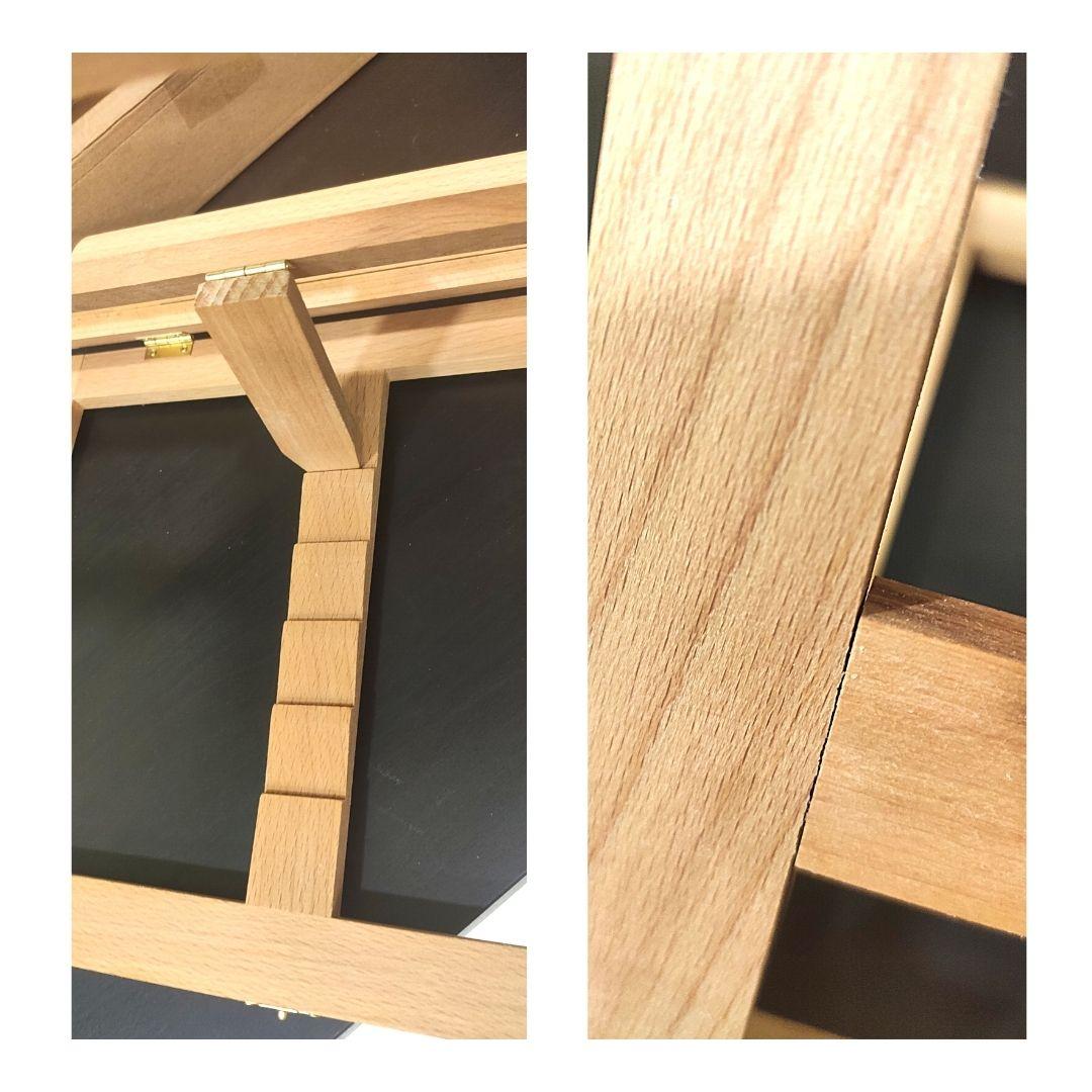 Мольберт настольный деревянный (вяз), 33.5х26х6см