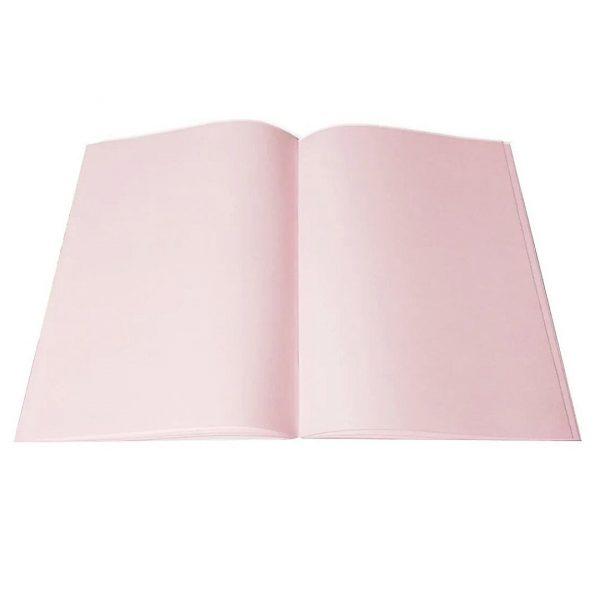 """Скетчбук """"Цветущая гортензия"""" розовый блок 80листов, А5, 80 г/м2."""
